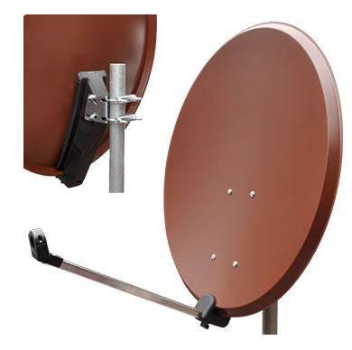 Czasza TV-SAT ST80SP30-brązowa.