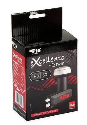 Konwerter Twin FTE eXcellento Black 0,1dB