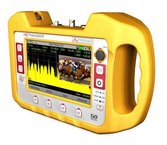 HD Ranger   TV/SAT Analyser