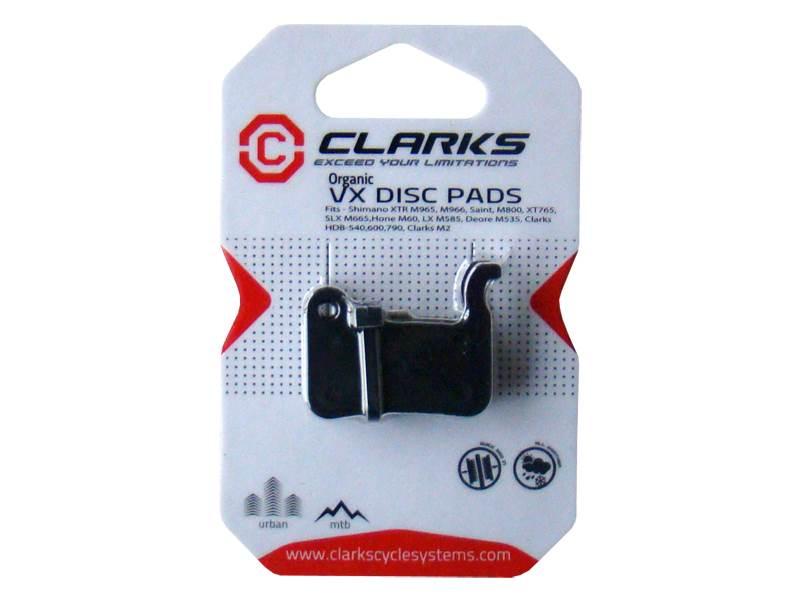 Okładziny hamulcowe CLARK'S VX824 Organiczne