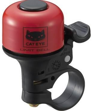 Dzwonek Cateye LIMIT BELL PB-800 czerwony