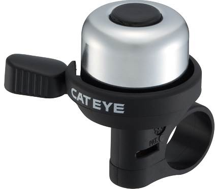 Dzwonek Cateye WIND BELL ALMINIUM PB-1000 srebrny