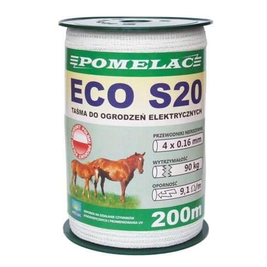 Past/Taśma ECO S-20 20/200 biała
