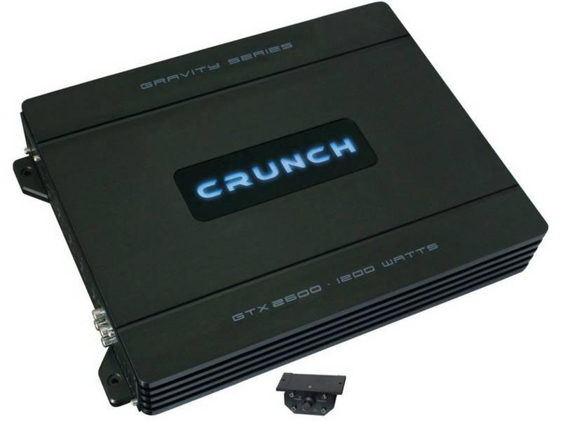 CRUNCH GTX-2600 2-kanałowy