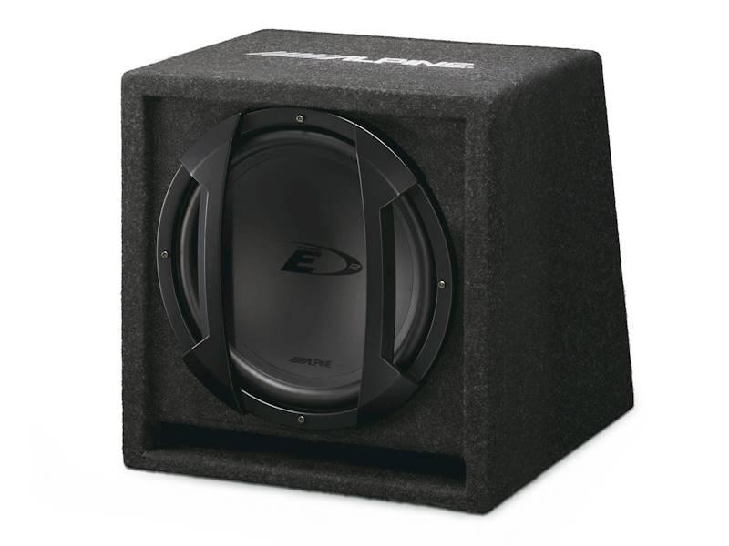 ALPINE SBE-1244BR bass-reflex