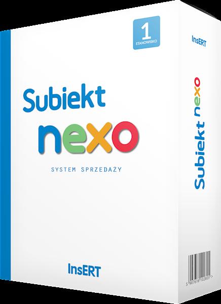 Subiekt nexo - 1 stanowisko