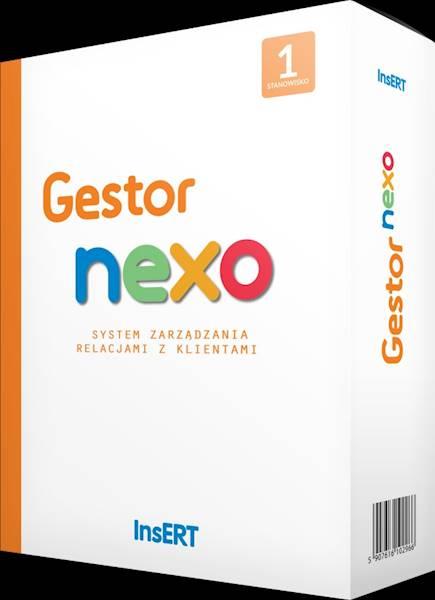 Gestor nexo - rozszerzenie na następne 1 stanowisko - cena specjalna dla użytkowników starszych wersji Gestora