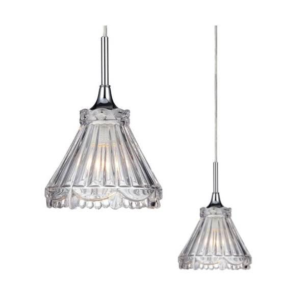 Lampa wisząca LAURA chrom E14 1x40W 105936