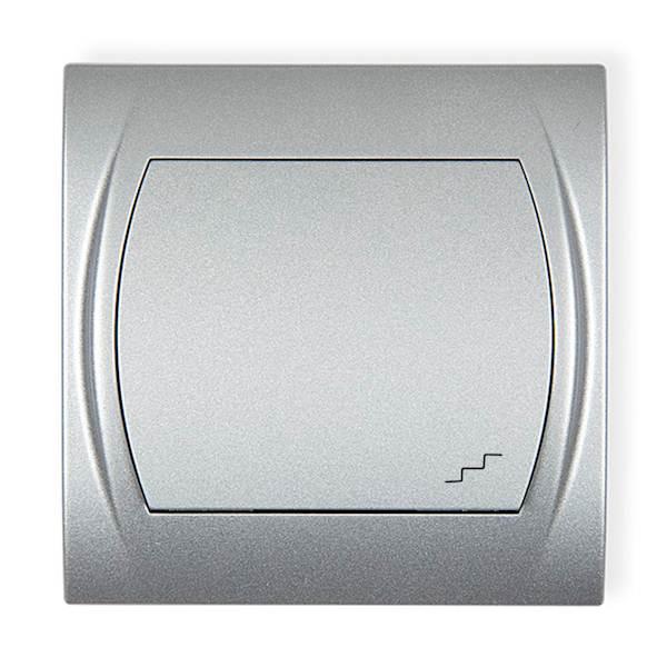 KARLIK Łącznik schodowy srebrny 7LWP-3