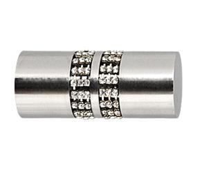 Końcówka Lanso Crystal INOX 25 mm
