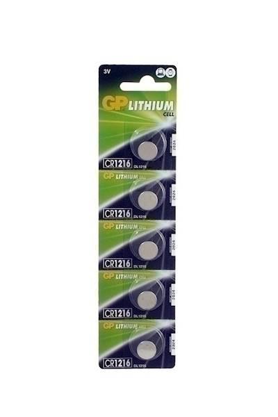 Bateria guzikowa litowa GP Batteries CR1216