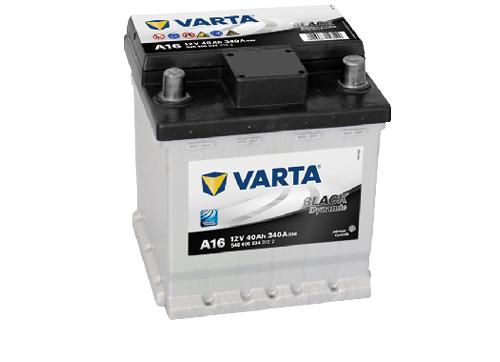 40AH/340A Varta A16