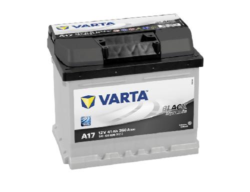 41AH/360A Varta A17