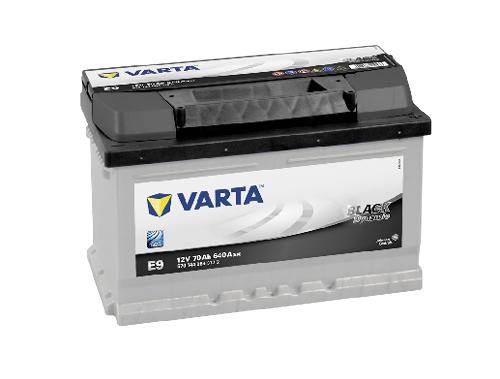 70AH/640A Varta E9