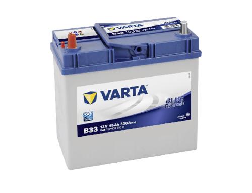 45AH/330A Varta B33
