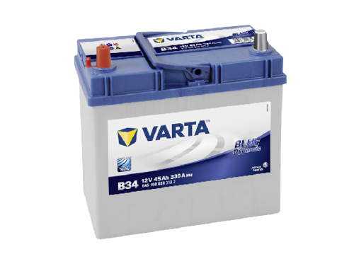 45AH/330A Varta B34