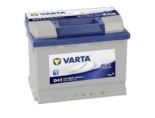 60AH/540A Varta D43