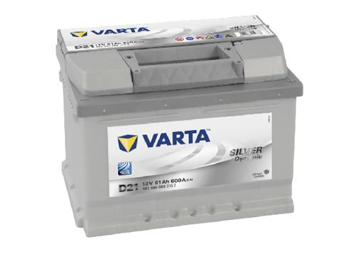 61AH/600A Varta D21
