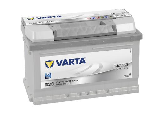 74AH/750A Varta E38