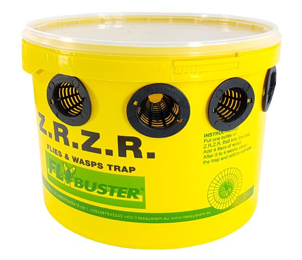 FLYBUSTER Z.R.Z.R. - pułapka na muchy z atraktantem