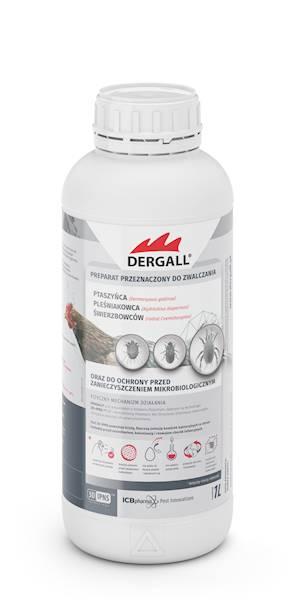 Dergall 1l - na ptaszyńca kurzego i inne pasożyty do stosowania w obecności ptaków