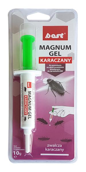Magnum Gel na karaczany 10g - strzykawka