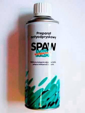 Spawmix - preparat antyodpryskowy