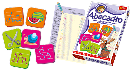 Gra edukacyjna Abecadło Mały Odkrywca Trefl