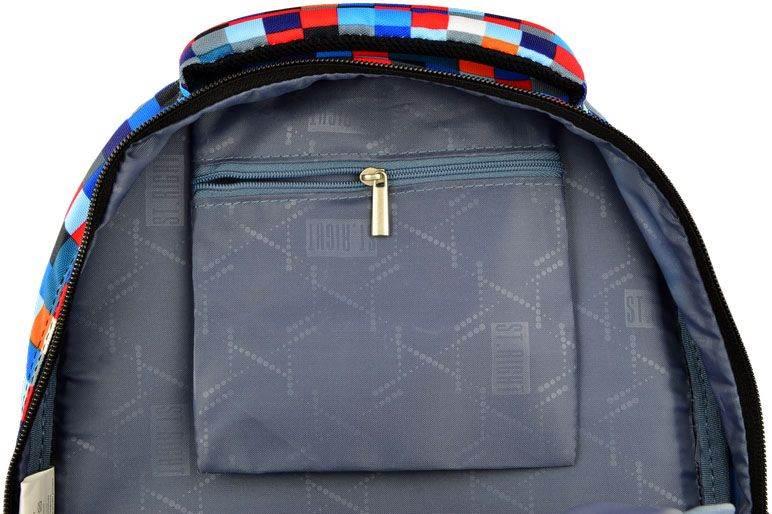Plecak 3-komorowy PIXELMANIA BLUE BP26 St.Right Majewski