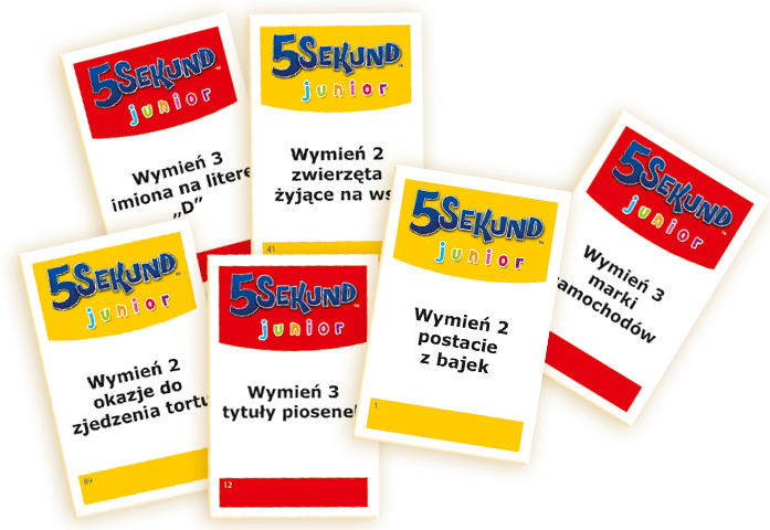 Promocja Gra 5 Sekund Junior 01138, Trefl