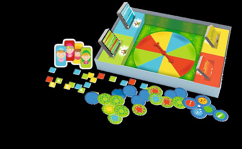 Gra edukacyjna Jestem bezpieczny Mały Odkrywca idzie do szkoły Trefl