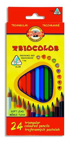 Kredki 24 kolory Triocolor Koh i Noor