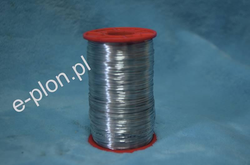 Drut do węzy 0,4 mm ocynk - 500g /600m/
