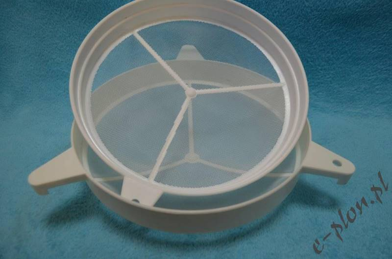 Sito podwójne plastikowe wypukłe II