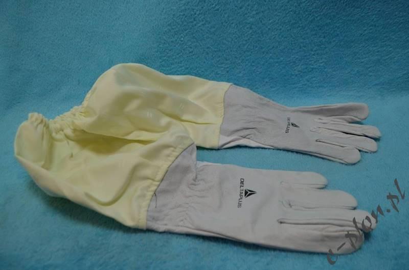Rękawice pszczelarskie skórzane, rozmiar 11