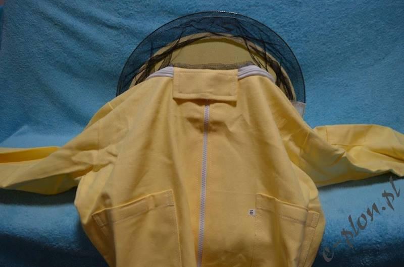 Bluza pszczelarska z kapeluszem /zamek/ rozm. XL