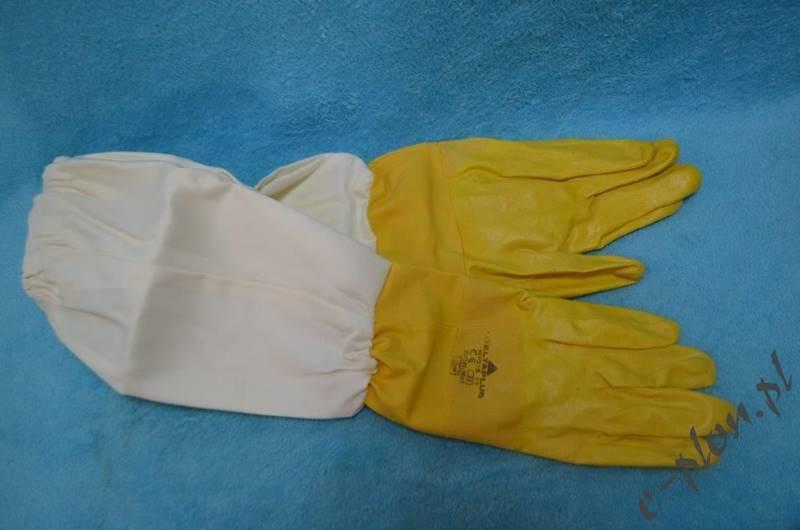 Rękawice pszczelarskie gumowe rozmiar 11