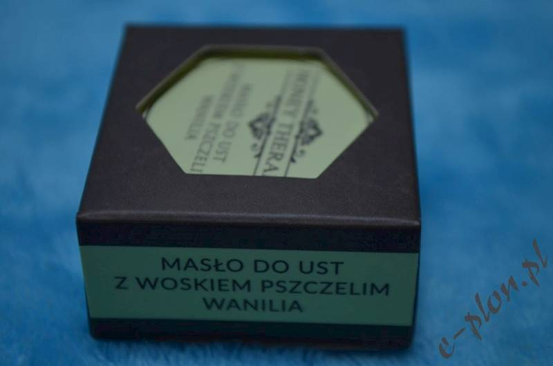 Masło do ust z woskiem - wanilia 15g / HT07