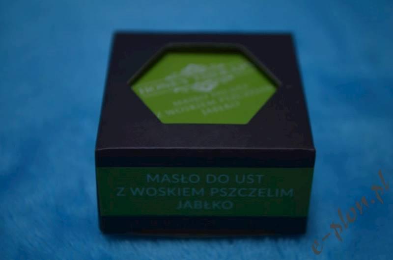 Masło do ust z woskiem - Jabłko 15g /HT08