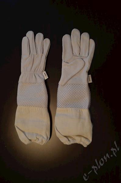 Rękawice pszczelarskie dziecięce z wentylacją 7 L