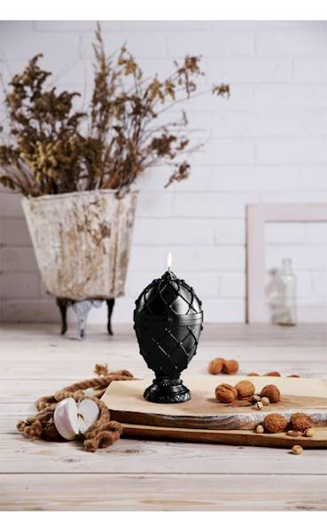Świeca Candle Faberge Egg Big Steel