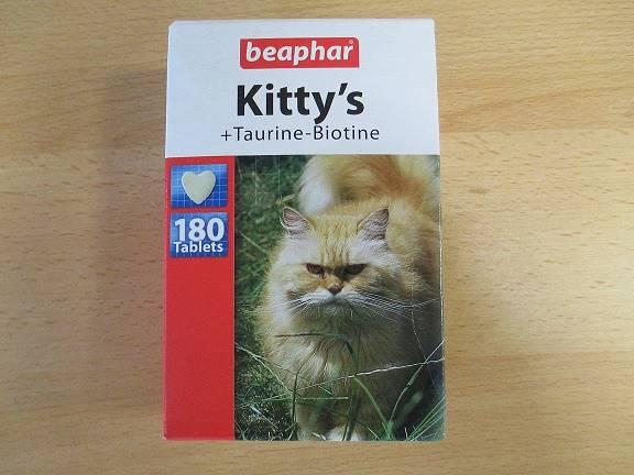 BEAPHAR KITTY'S TAURYNA+BIOTYNA 180szt.