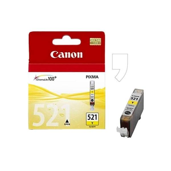 TUSZ DO CANON CLI-521Y YELLOW