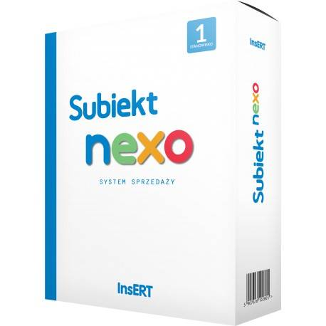 PROGRAM INSERT SUBIEKT NEXO ST.1