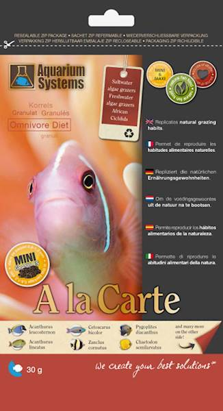 AS A LA CARTE OMNIVORE DIET MINI 30G