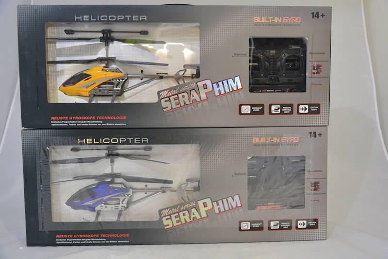 HELIKOPTER STER. METAL SERIES SERAPHIM 34cm  NIEB