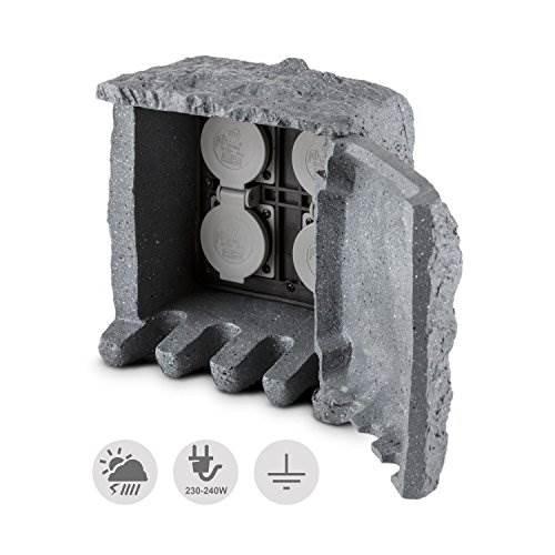 GNIAZDO OGROD. kamień sterowane BK-3m 4x230V 3mb