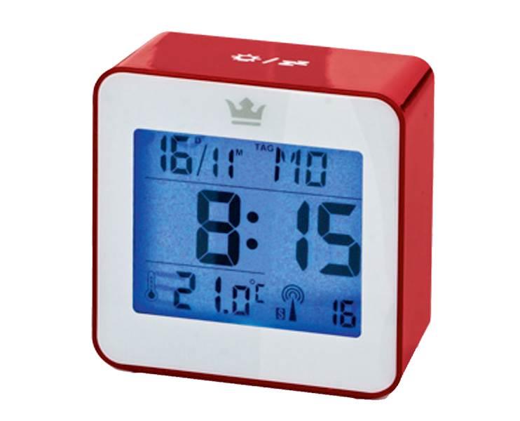 BUDZIK SEMPRE 92675 LCD CZERWONY