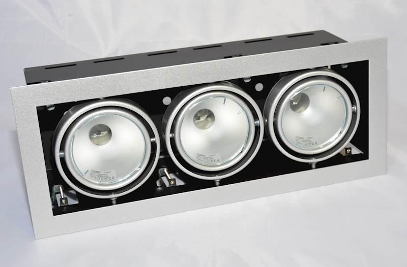 OPRAWA DOWNLIGHT SQUERTO 3MH sufitowalampa 3X150W