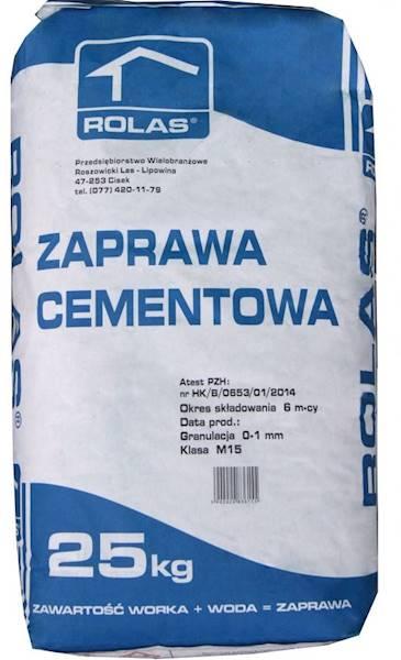 Zapr.  ROLAS cementowa 25kg